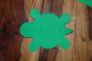 Je suis assez fière de ma tortue!