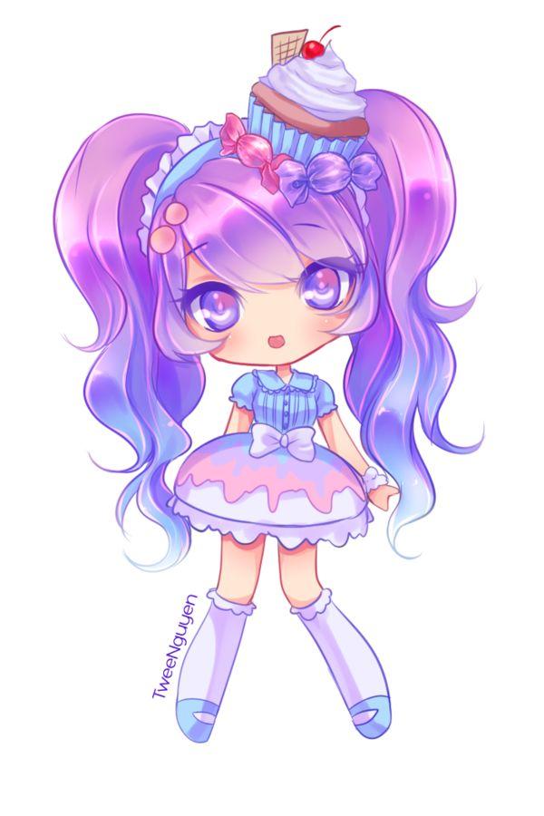 fille kawai